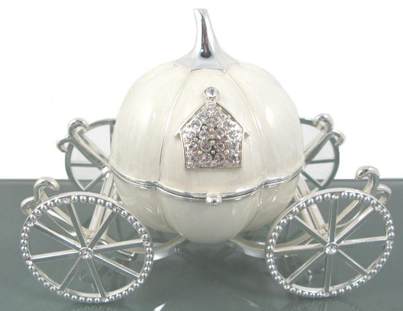 Trinket Box - Pumpkin Carriage large