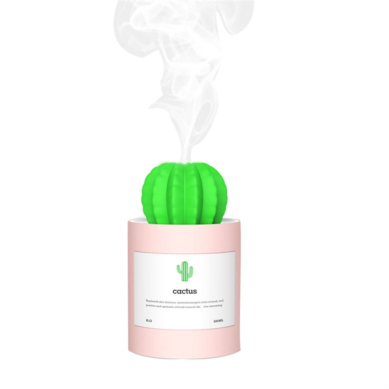 Portable Cactus Ultrasonic Humidifier