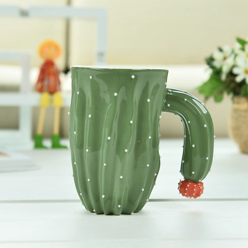 Adorable Cactus Ceramic Coffee Mug- | What-A-Prick Shop