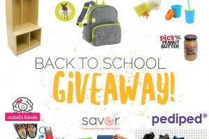 Enter to win our back to school giveaway