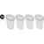 Deluxe Learn and Play Art Center - LP0280 (R1) - Plastic Cup