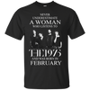 Never underestimate a Woman who listens to The 1975 and was born in February shirt, hoodie, tank