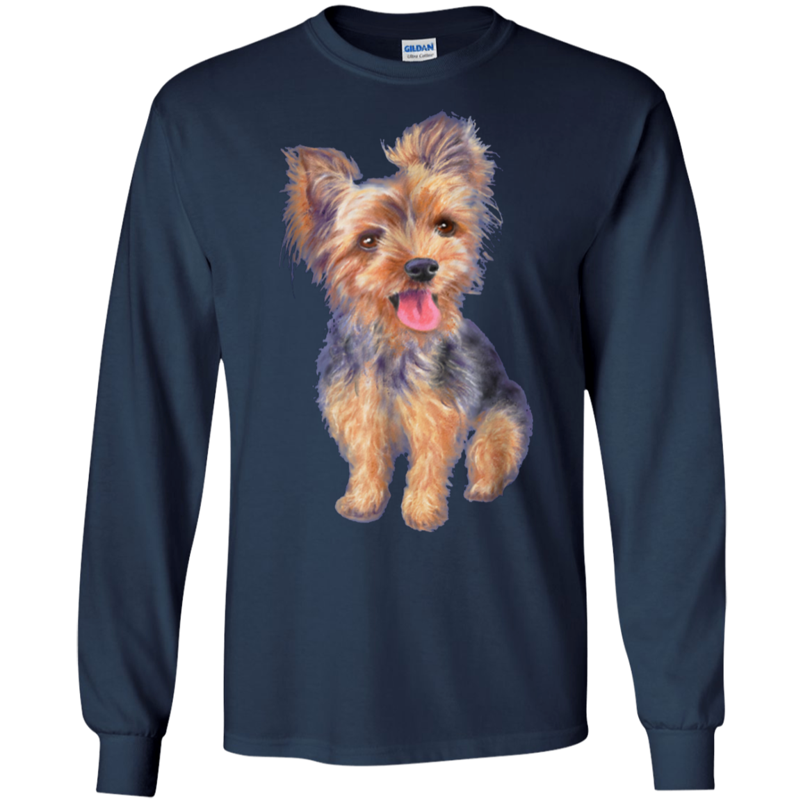 Yorkie gifts puppy dog t shirt birthday gift for women