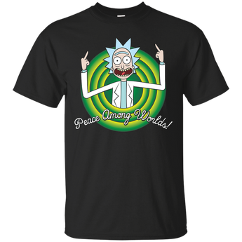 Rick And Morty : Peace Among World shirt, hoodie, tank