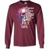 The sweetest most beautiful loving amazing evil psychotic creature youll ever meet July girl shirt, hoodie, tank