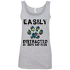 Easily distracted by jeeps and dogs  - shirt, hoodie, tank