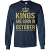 King Are Born In October. shirt, hoodie, tank