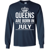 Queens Are Born In July. shirt, hoodie, tank