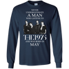 Never underestimate a man who listens to The 1975 and was born in May shirt, hoodie, tank