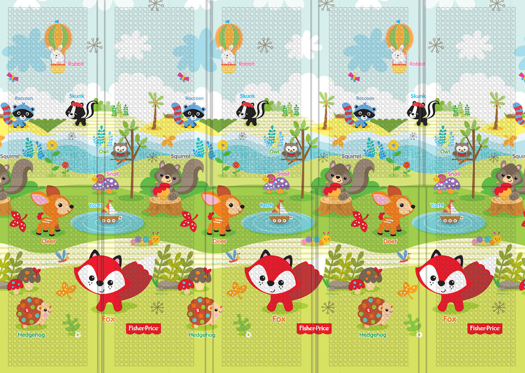 portable-folding-mat-fisher-price-woodland-friends