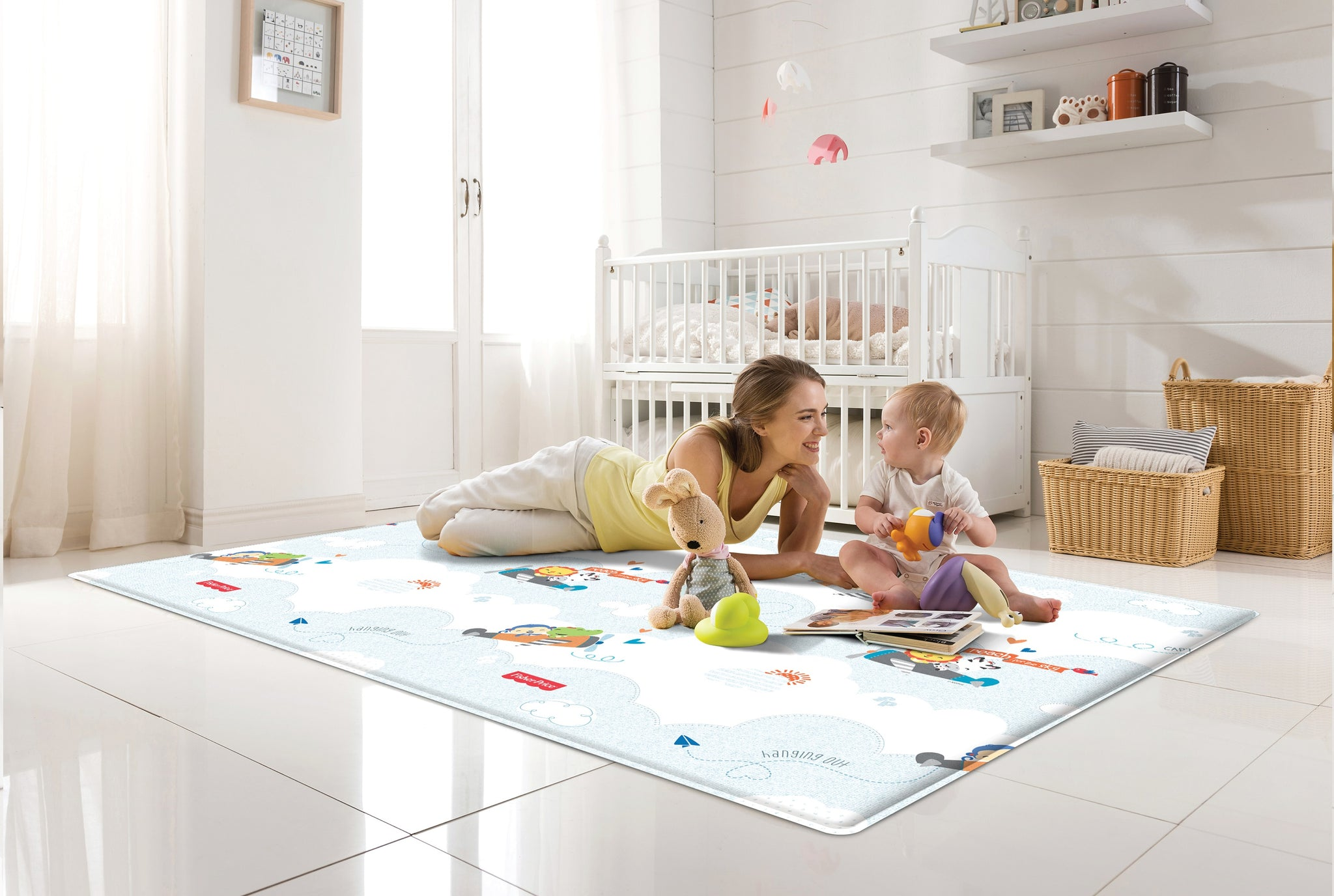 Soft Mat - Fisher-Price Flying