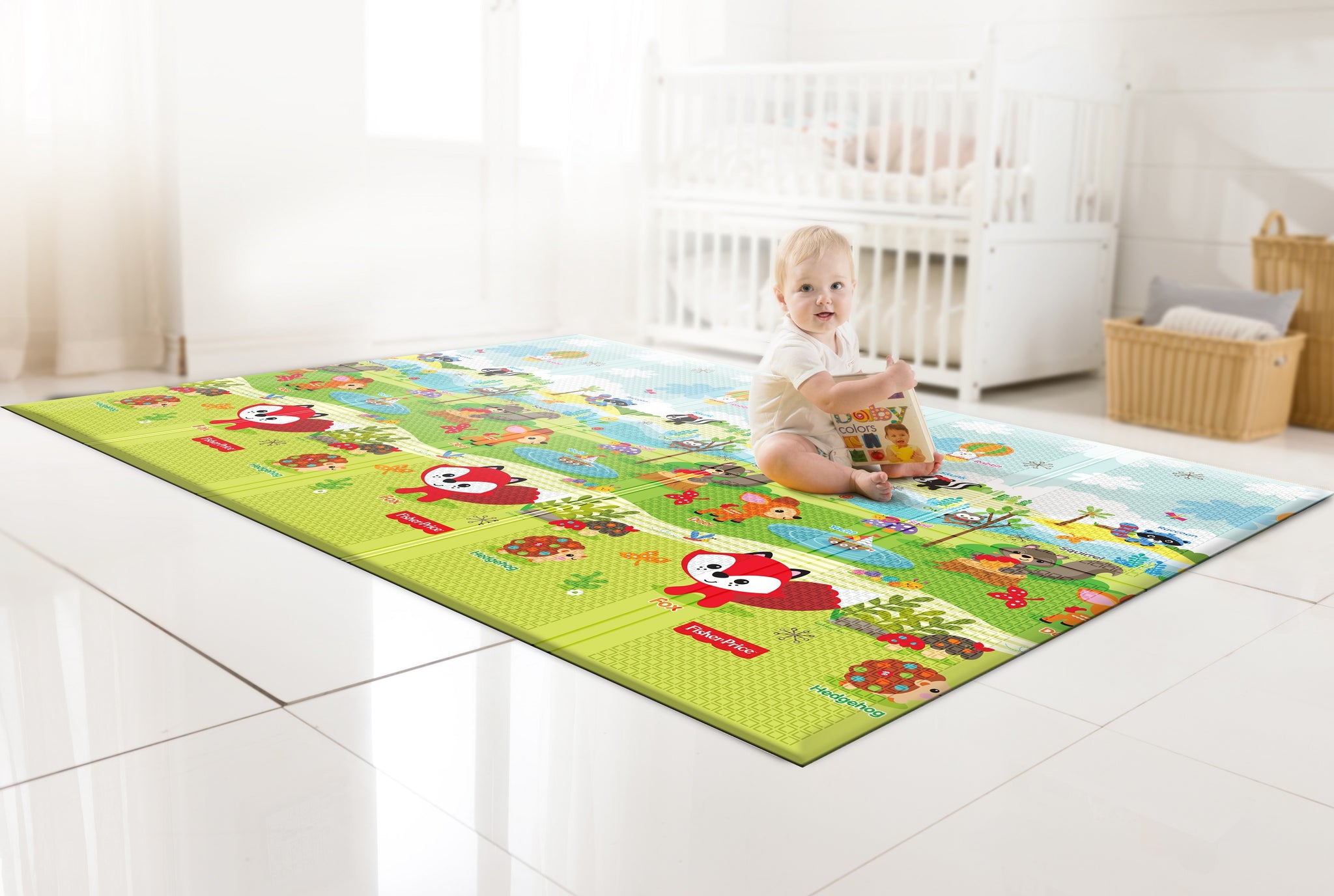 Portable Play Mat - Fisher-Price Woodland Friends