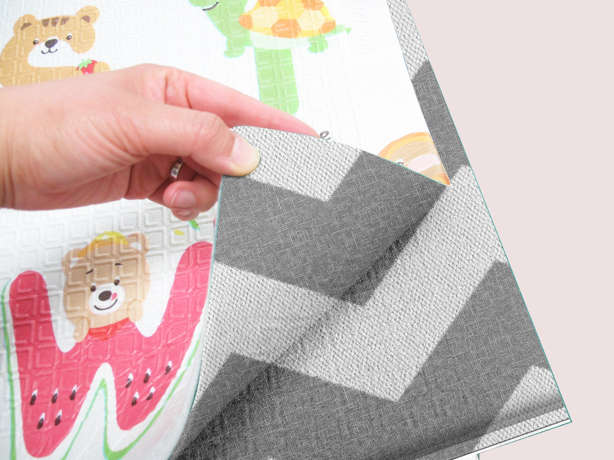 Double-Sided Portable Play Mat