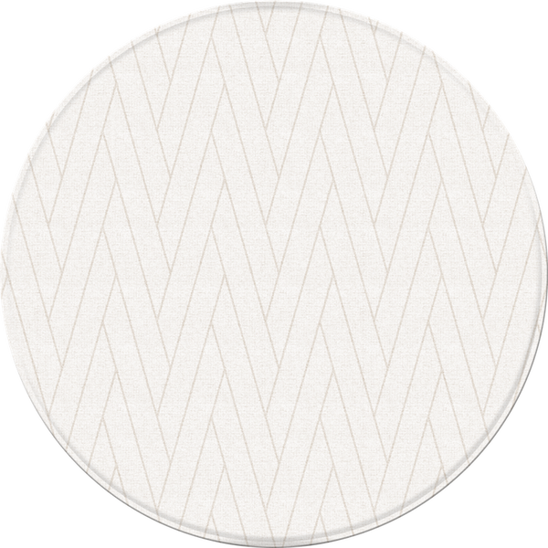 *NEW* Pure Soft Round Mat - Double Herringbone