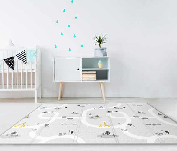 Silky Portable Play Mat - Le Mans