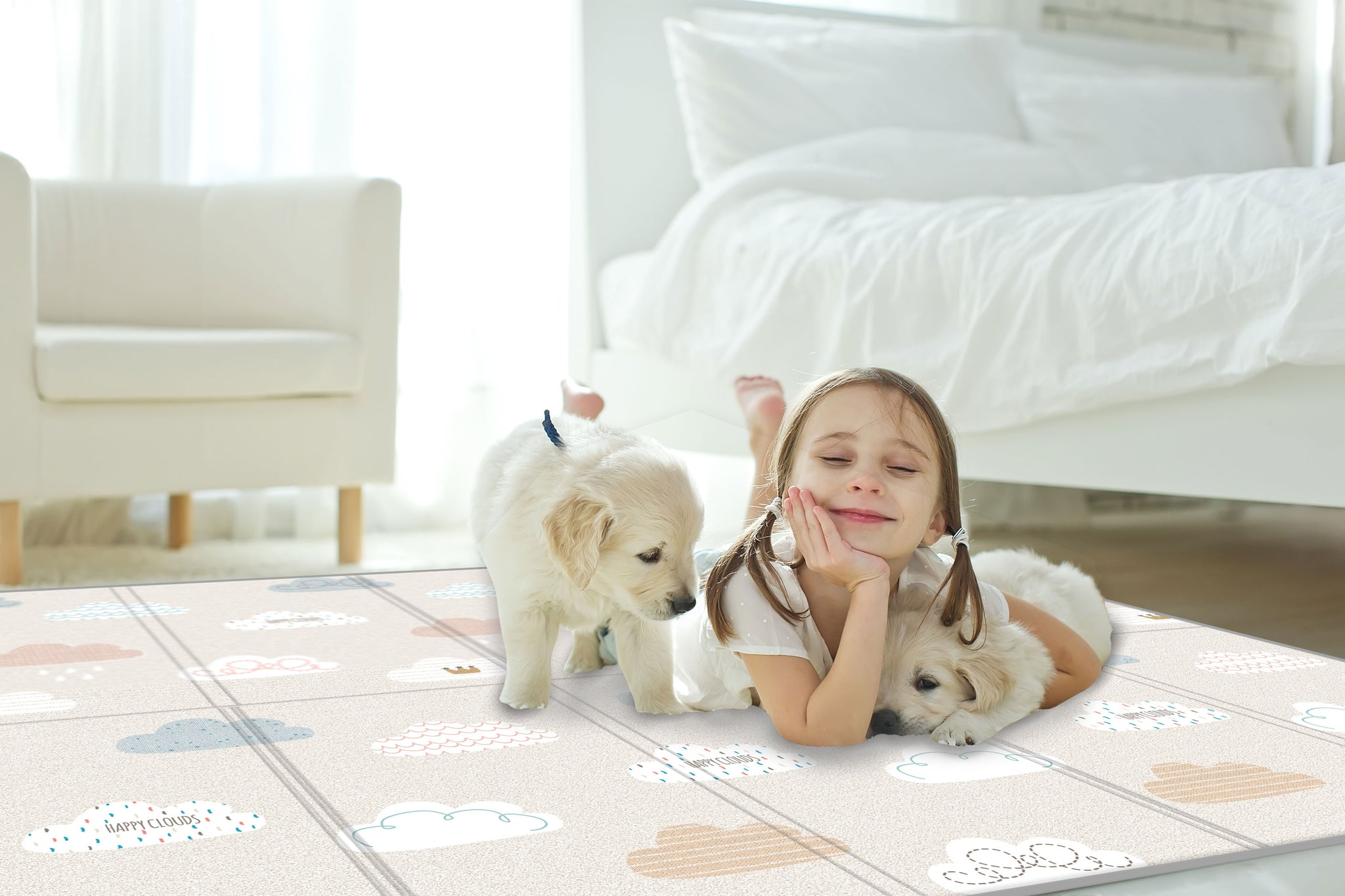 Silky Portable Play Mat - Cloud Bebe
