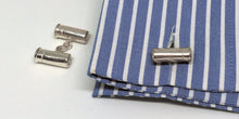 Sterling Silver Reversible Bullet & Shotgun Cartridge Cufflinks - SophieSalm