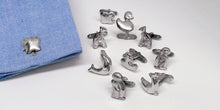 "The ""Squeaky Duck"" Range Cufflinks in Sterling Silver - SophieSalm"