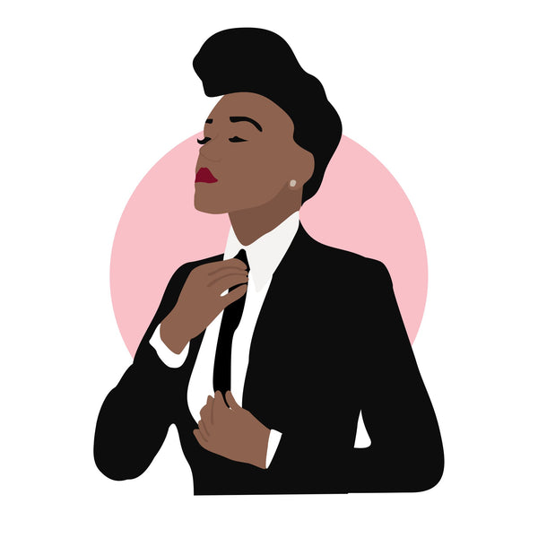 Janelle Monae icon image. Pop culture. Minimal art. T-shirt, tote bag, poster and more. Gifts for fans of Janelle Monae.