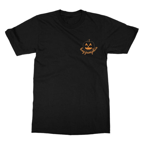 Hey Pumpkin T-Shirt (Foodie Collection, Left-Breast Print)