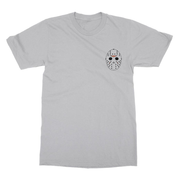 Friday The 13th Jason Voorhees T-Shirt (Halloween Collection, Left-Breast Print)