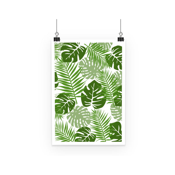 Palm Leaves Nature Colletion Poster
