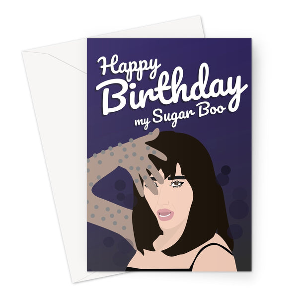 Happy Birthday My Sugar Boo Dua Lipa Levitating Fan Love Music Song Video Greeting Card