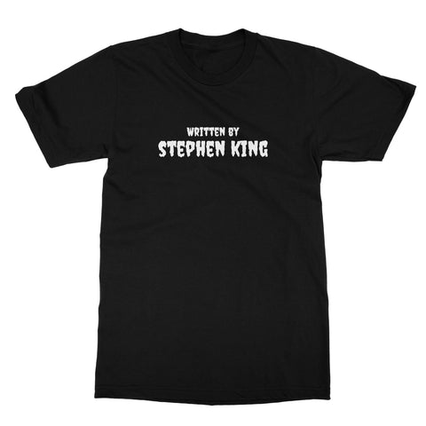 Halloween Apparel - Written by Stephen King Softstyle T-Shirt