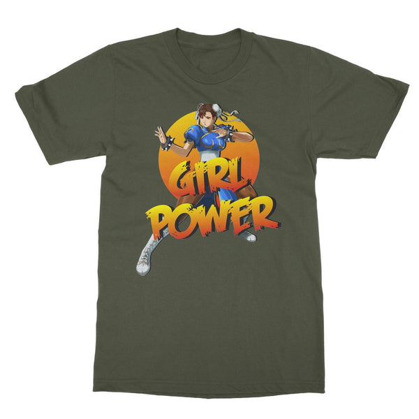 Girl Power Chun Li T-Shirt (Gamer Collection)