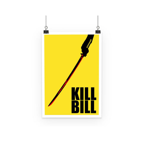 Kill Bill Poster (with text)