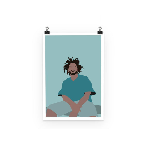 Musical Icon Poster - J Cole