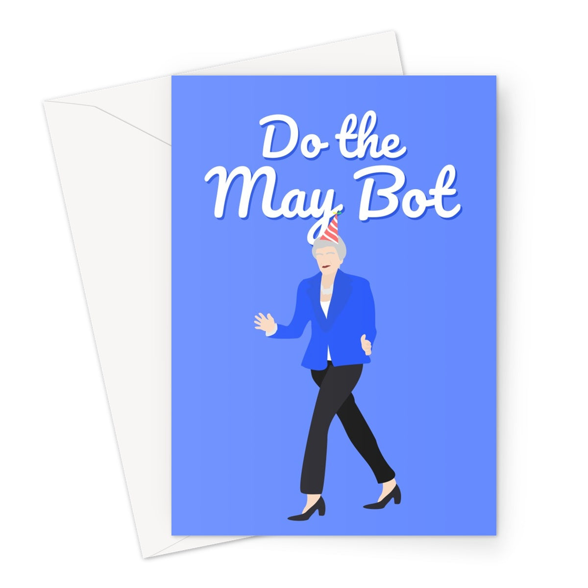 Do the May Bot Custom Greeting Card