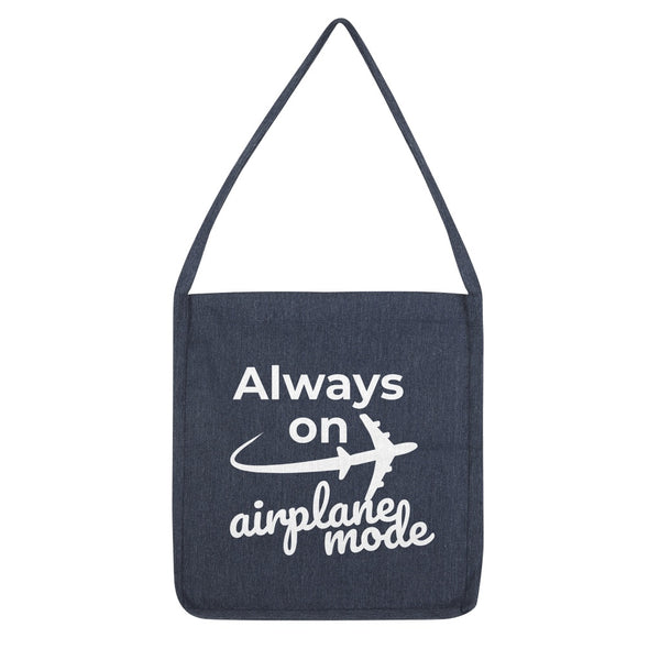 Always On Airplane Mode Tote Bag