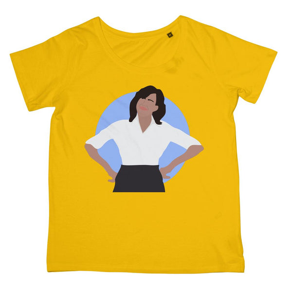 Cultural Icon Apparel - Michelle Obama Women's Fit T-Shirt (Big Print)