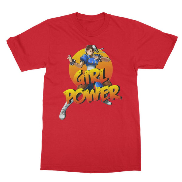 Street Fighter Apparel - Chun Li T-Shirt ('Girl Power')