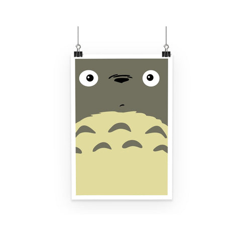 My Neighbor Totoro Minimal Anime Poster