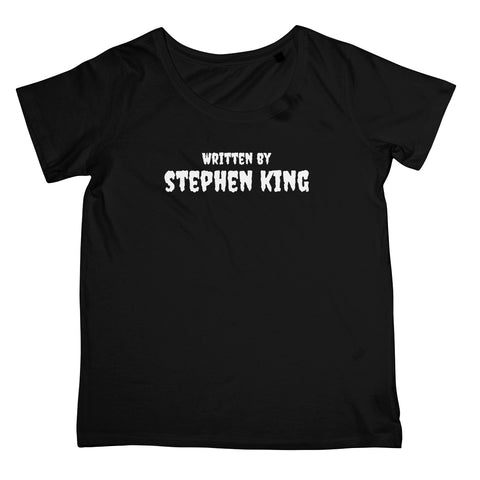 Halloween Apparel - Written by Stephen King Women's Retail T-Shirt