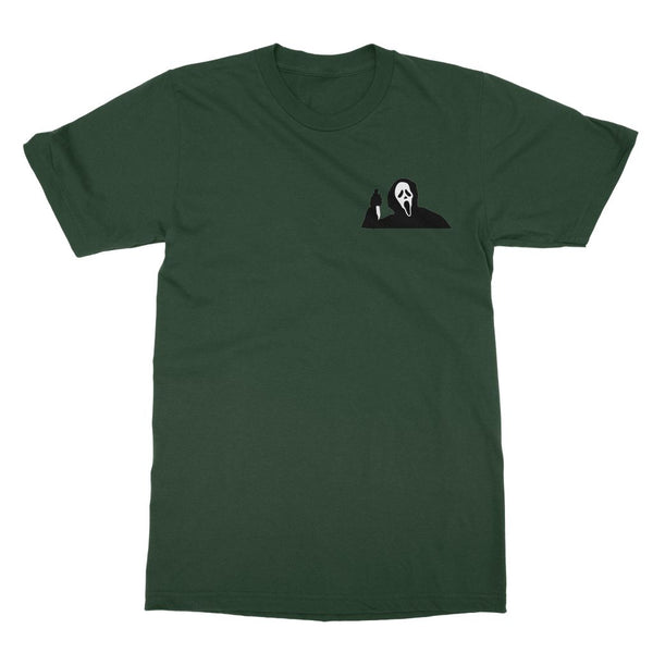 Scream Ghostface T-Shirt (Halloween Collection, Left-Breast Print)