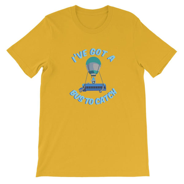 I've Got A Bus To Catch Fortnite Kid's T-Shirt (Gamer Collection)