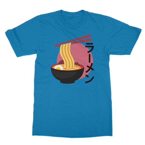 Foodie Collection Apparel - Ramen T-Shirt (Japan-Themed Apparel) Softstyle T-Shirt