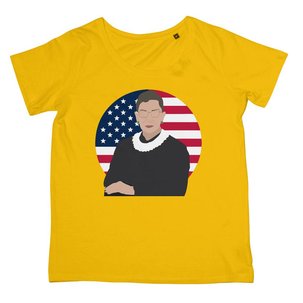 Cultural Icon Apparel - Ruth Bader Ginsburg (RBG) Women's Fit T-Shirt (Big Print)