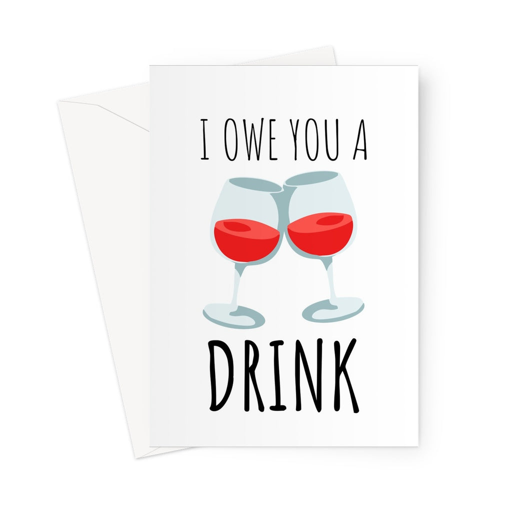 I Owe You A Drink Birthday Anniversary Friends Bar Pub Quarantine Isol The New Aesthetic Store