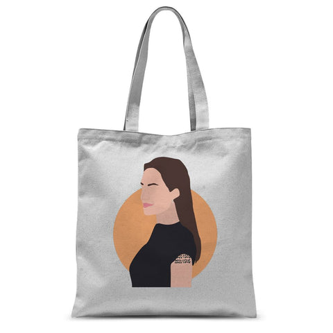 Hollywood Icon Apparel - Angelina Jolie Tote Bag