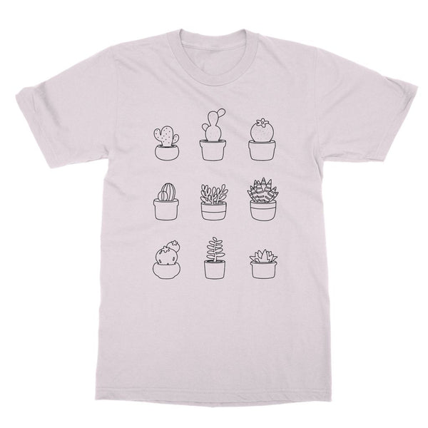 Cute Succulent T-Shirt (Nature Collection)
