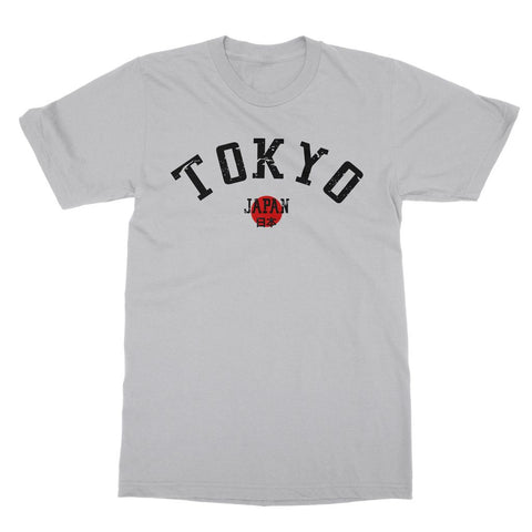 Tokyo print t-shirt. Japan-inspired clothing. Tokyo travel apparel. Japanese gift ideas. Japan fashion.