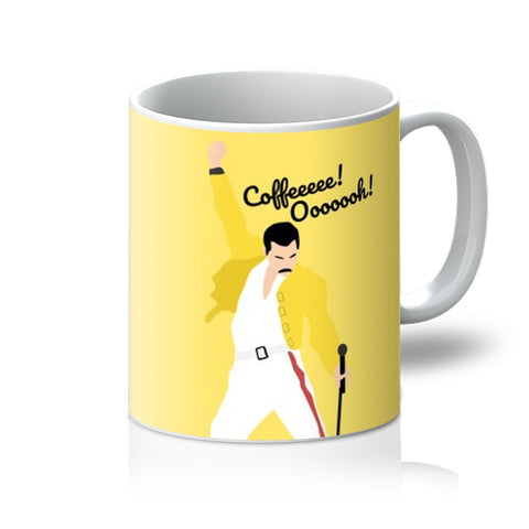 Freddie Mercury Coffee Oooh Mama Song Funny Fan Gift Christmas Bohemian Rhapsody Mug