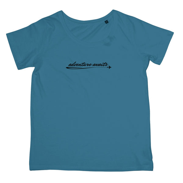 Travel Collection Apparel - 'Adventure Awaits' T-Shirt (Women's Fit)