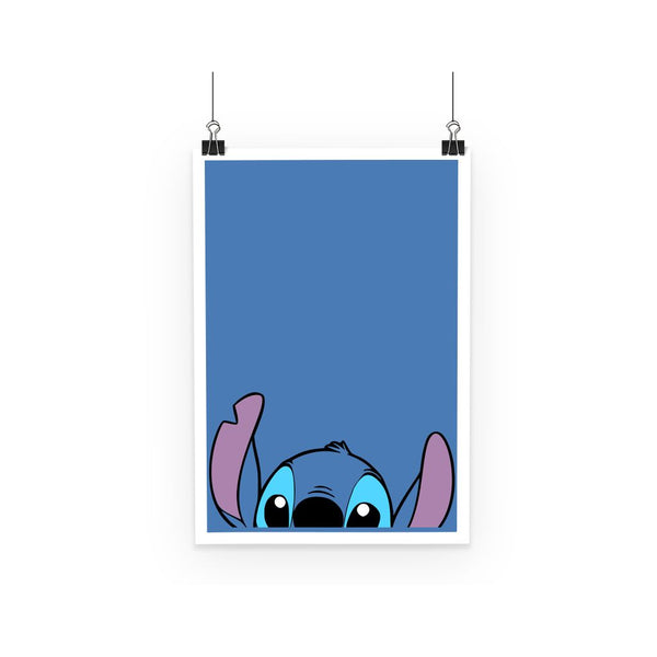 Lilo and Stitch Ohana Minimal No text Poster