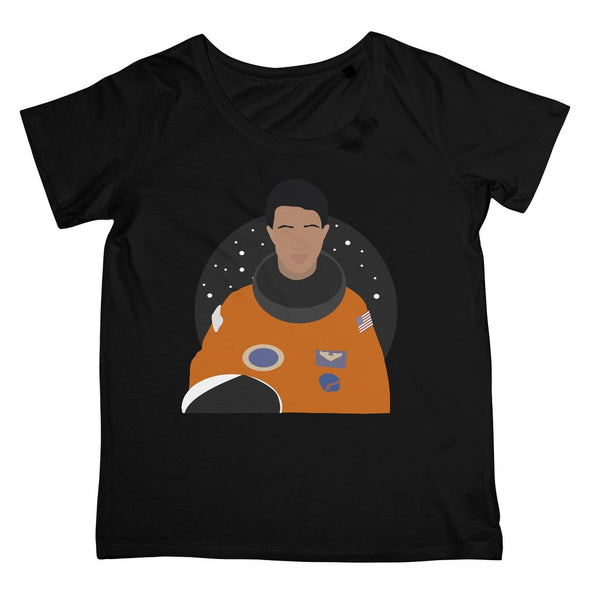 Mae C Jemison T-Shirt (Cultural Icon Collection, Women's Fit, Big Print)