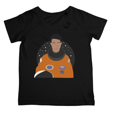 Cultural Icon Apparel - Mae C. Jemison Women's Fit T-Shirt (Big Print)